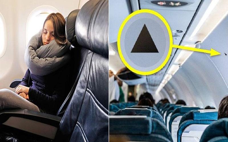 搭飛機時仔細觀察!坐在「三角形標誌」正下方的乘客「你超幸運!」