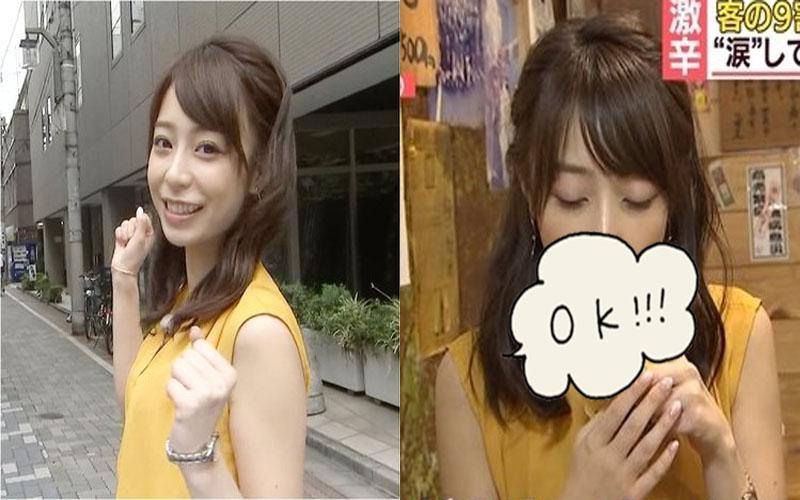 最強發電機!日本正妹主播宇垣美里「含淚吃香蕉」畫面曝光...網友:一早看這個受不了啦!