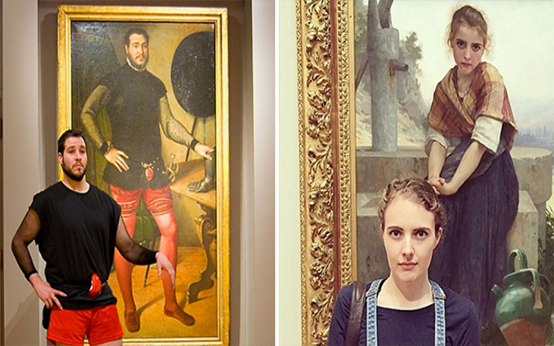 時空旅人?27個「撞臉古典名畫裡的人」...看畫看到一半傻住:莫名有幽默感阿~