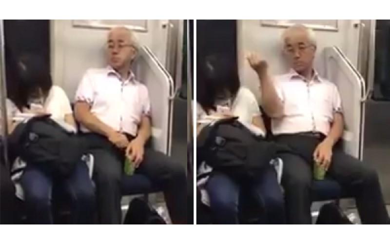 超噁!日本阿伯「拉開褲檔拉鍊」    拔下體毛丟熟睡女學生!