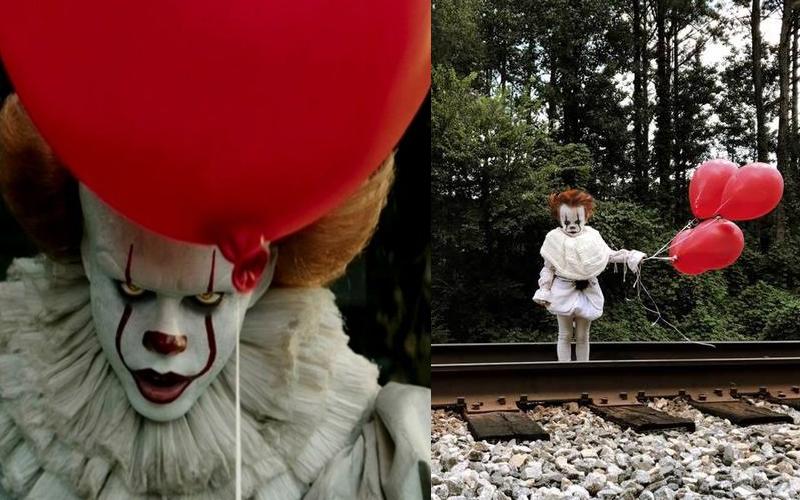 17歲少年把3歲弟弟 Cosplay 成恐怖電影《牠》裡的裂嘴小丑,網友們看了直呼:反差萌!