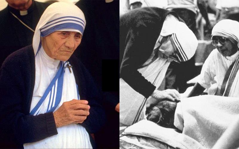 德蕾莎修女根本不是「聖人」!被踢爆生前「假裝擦澡」強逼異教徒受洗...外界批:「趁人之危」!