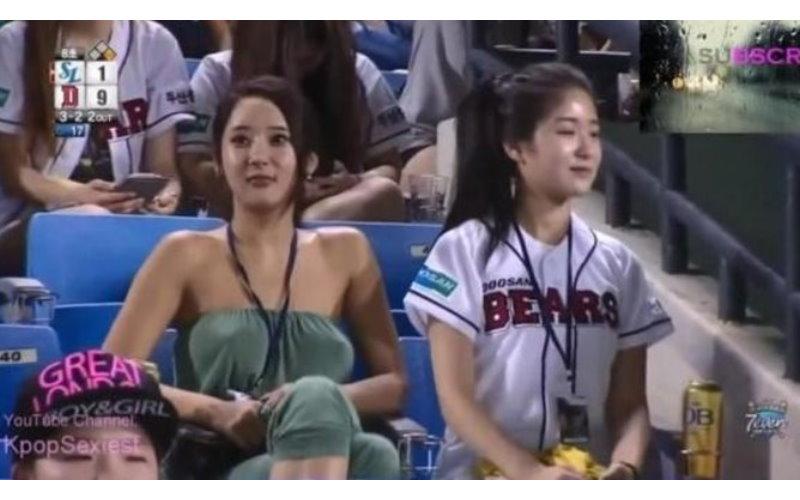 攝影師聚焦長達45秒! 韓國球場看臺上的女子好吸睛 [圖+影]