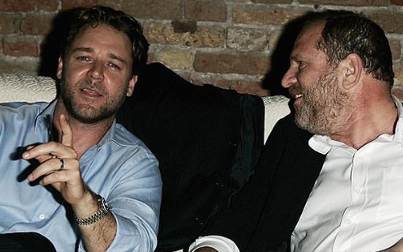 「好萊塢最嚴重性侵案」麥特戴蒙、羅素克洛竟也是幫兇!涉嫌出面「河蟹」...形象大毀!