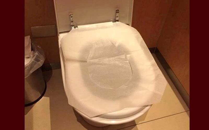 「馬桶坐墊紙你真的用對了嗎?」正確方法曝光,網友驚:「原來我一直都放反了!」