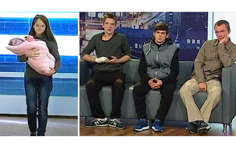 孩子是繼父還是哥哥的?12歲小媽媽生產後上「直播節目」尋找寶寶親生父親!:這關係圖好亂阿