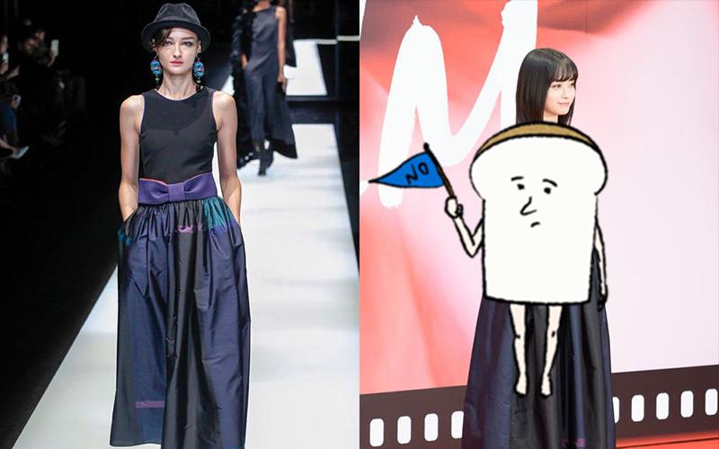 驚!橋本環奈又崩壞?網友拿她跟模特兒的「禮服實穿照」對比...瞬間崩潰:缺陷大現形!