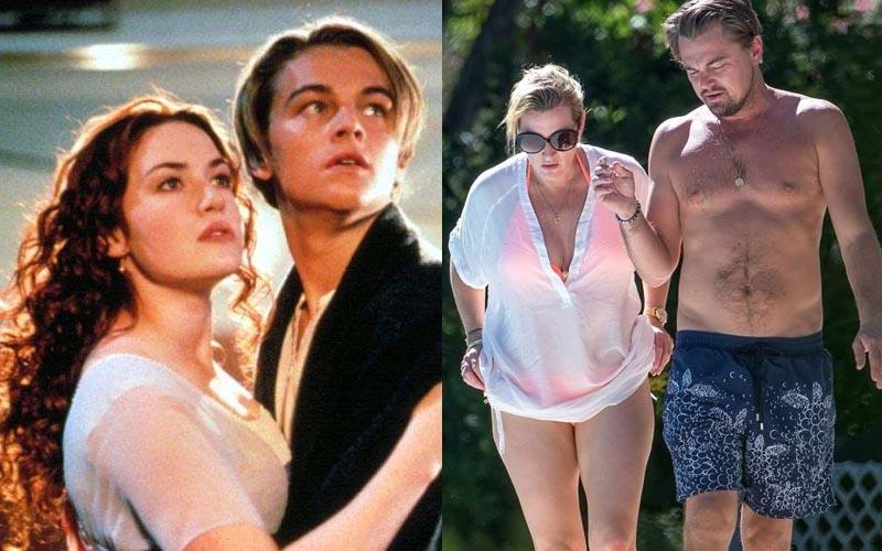 經過了20年《鐵達尼號》的男女主角終於真的在一起了?渡假別墅裡的親密互動看起來好甜!