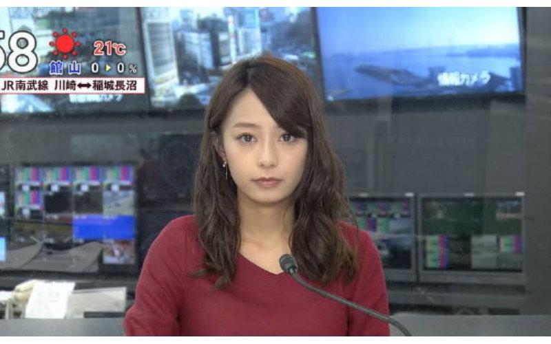 放送事故?宇垣美里播新聞疑似「沒穿內衣」 超明顯凸點…觀眾:太害羞啦!(11P)