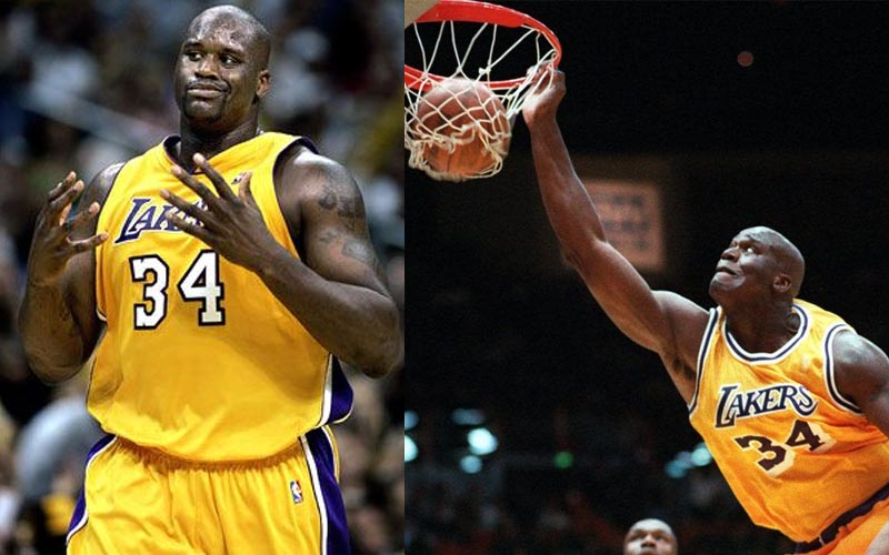 NBA最強統領中鋒,被稱為「籃底下的怪物」當年的俠客歐尼爾到底有多強?!