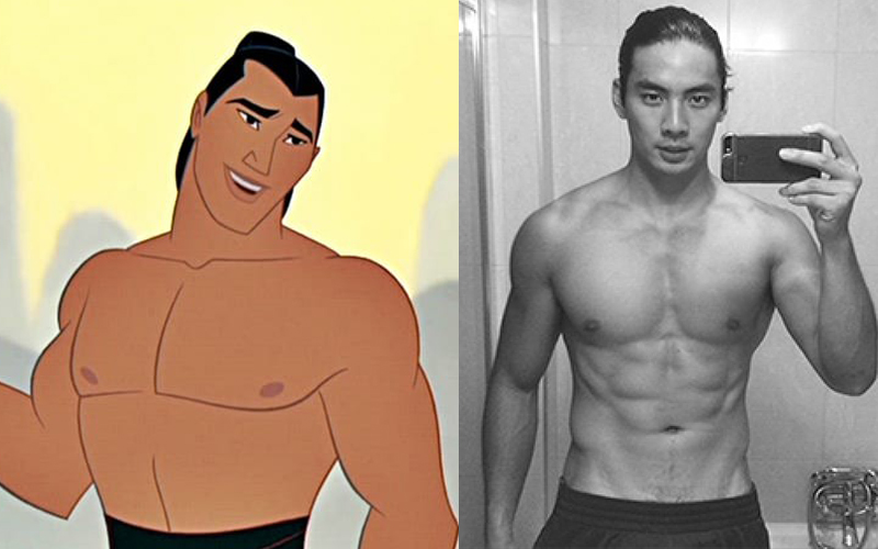 迪士尼若沒挑上他們簡直太沒眼光!網友激推8位根本就是真人版《花木蘭》李翔的帥氣男星!