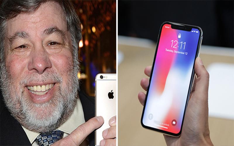 蘋果聯合創辦人挖苦「iPhone X」沒有太大的革新,直言「寧願用舊款!」...