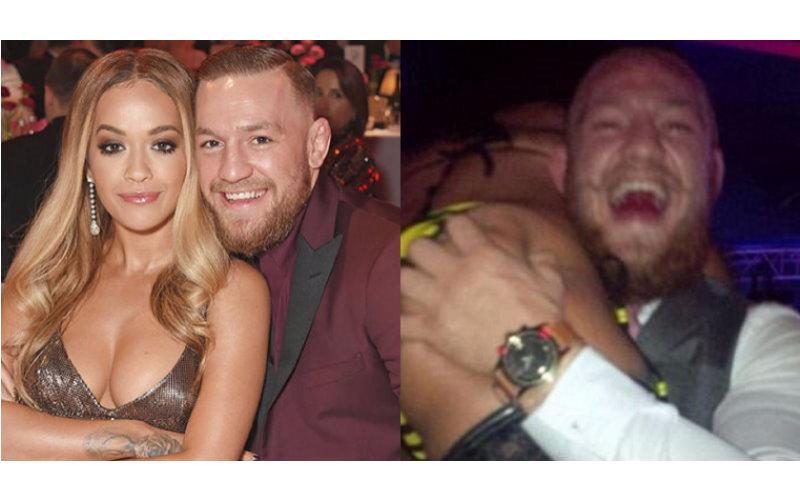 果然也受不了誘惑?Conor McGregor 開始拈花惹草調情辣模和 Rita Ora!網友為正宮抱不平!