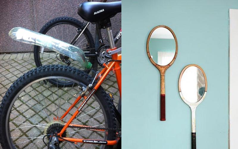 一系列「將廢物回收再利用」的創意點子,讓物品發揮意想不到的實用性!