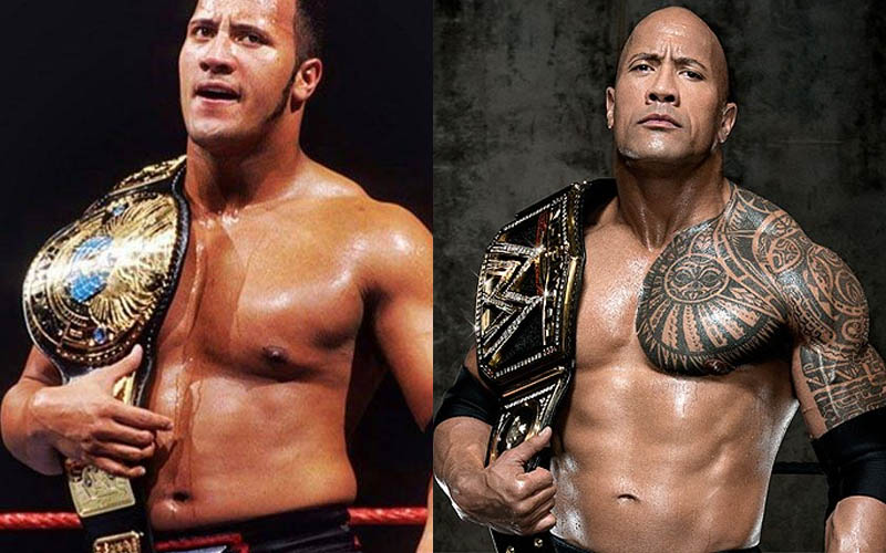 曾是足球員的他因腳受傷跳槽到摔角界,暫別WWE後,現今可是電影屆最吸金的巨星!