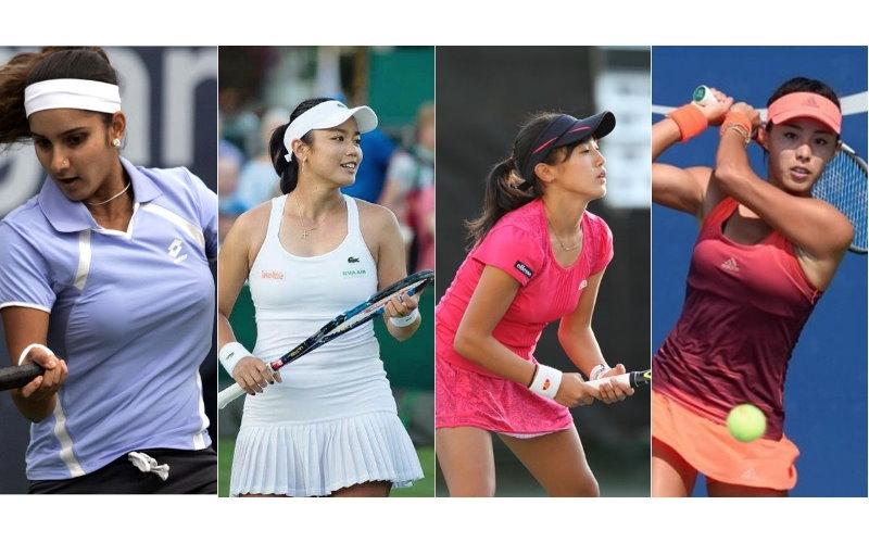 誰才是亞洲最性感女網球員?大家卻「歪樓」到她沒穿內衣「激凸見客」: 好害羞!