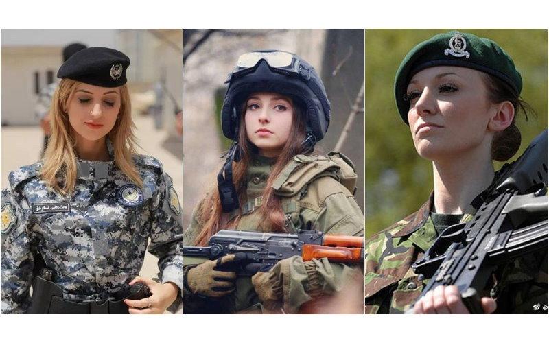 「你願意被哪個女兵射殺?」歪國女兵太正!日本網友嗨到爆:可以換我「身寸她」嗎