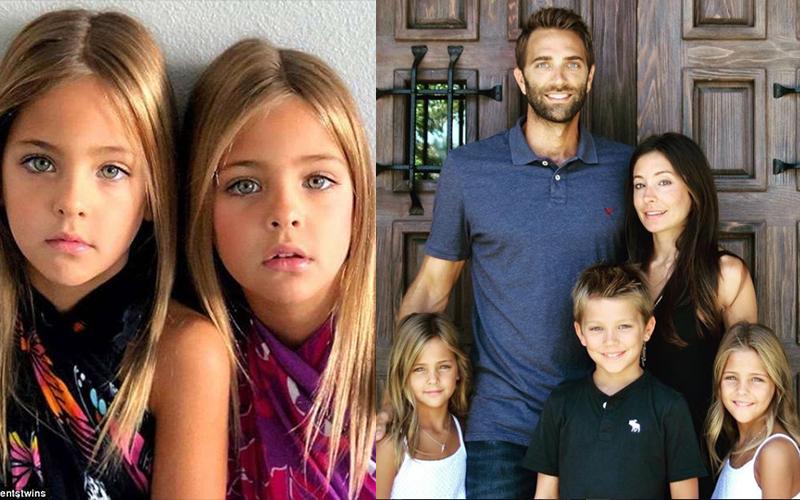 顏值高到被譽為「全世界最美雙胞胎」!爸媽和男模哥哥照片曝光證明「全家都神基因」!