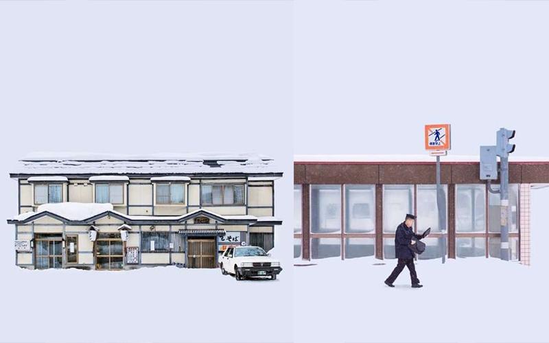 北海道暴雪後「一片白茫茫」,攝影師拍下「超現實影像」世界各地網友狂讚嘆!