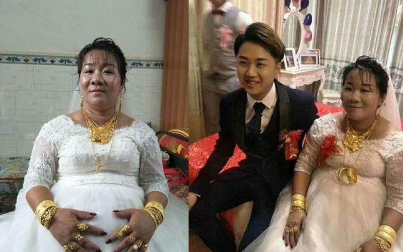 「38歲富婆嫁23歲鮮肉」網友:羨慕這種純真的愛情!