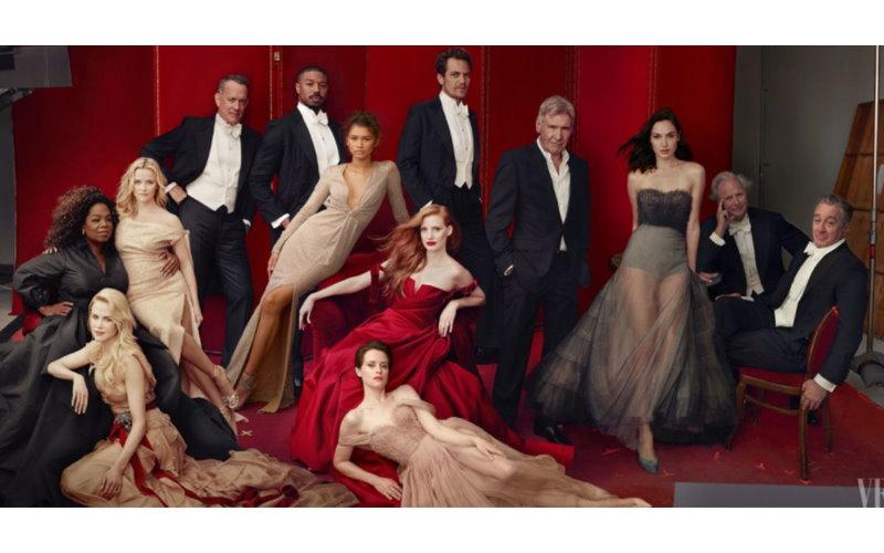 雜誌封面「好萊塢巨星」齊聚一堂卻被網友抓包「修很大」!你找的到誰的腳多一隻?