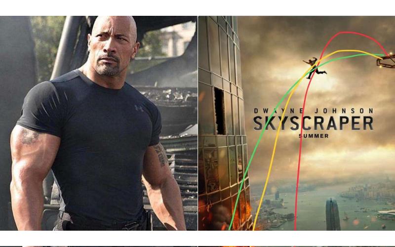 巨石強森勇跳「摩天大樓」海報一釋出,網友神分析「他根本會摔死啊」!
