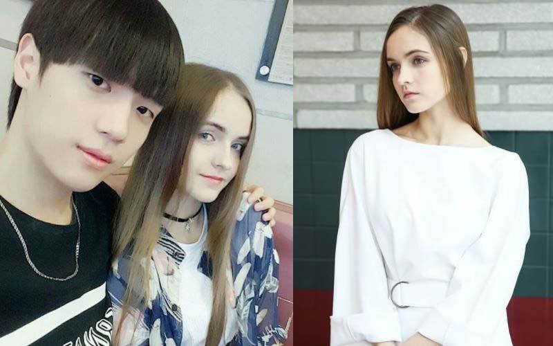 他經常在網路上曬出與「白俄羅斯小女友」的放閃日常!網友:羨慕忌妒恨啊!