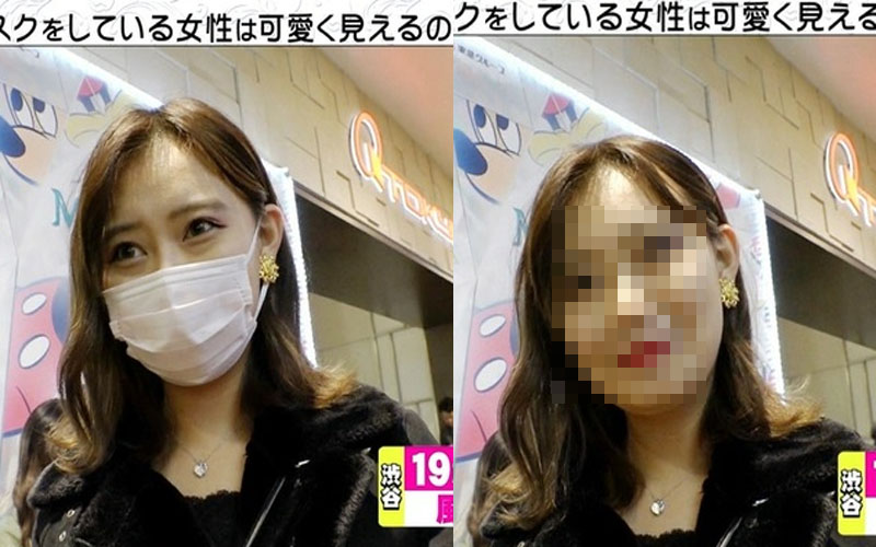 口罩美女到底可信嗎?日節目路上實測45位口罩正妹脫下後長這樣!
