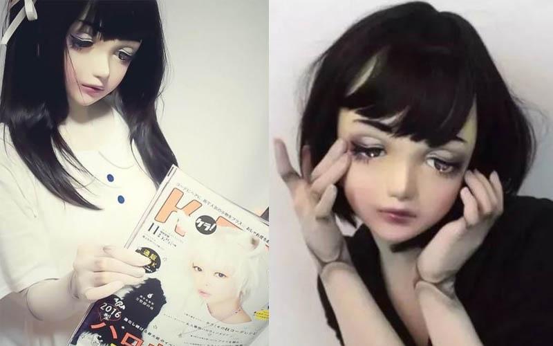 23歲的她把自己打造成洋娃娃在網路爆紅,日子久了連關節也變娃娃!