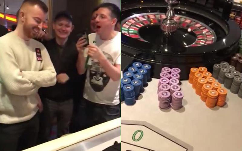 剛從撲克大賽贏得173萬元,他秒衝輪盤桌把獎金全押注,下秒「獎金瞬間翻倍」!(影)