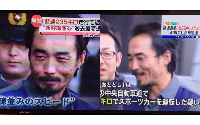 日本大叔「235km/h」油門踩底飆速追平新幹線!被逮一抹滿足笑容 網友:好感人!(影)