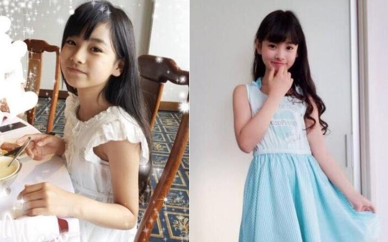 本來是個清純的日本小學生...開始「學女團化妝後」連爸媽都認不出:至少老十歲!