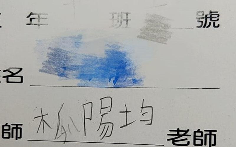 教師欄寫「木瓜陽均」被媽糾正,兒堅持「我沒寫錯」!說出老師名字...:笑噴