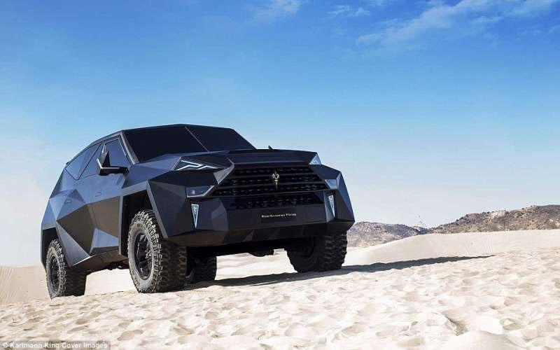 全球只有10輛!「世界最貴休旅車」賣6000萬,奢華內裝超越網友想像:根本是蝙蝠車!