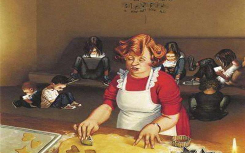 這名黑暗插畫家的作品背後充滿「諷刺現今社會」的意味,現代人看了心有戚戚焉:一針見血!
