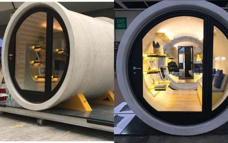 香港建築師設計這款「水管屋」,內部五臟俱全超完美,價格讓一般人都能輕易擁有自己的小套房了!