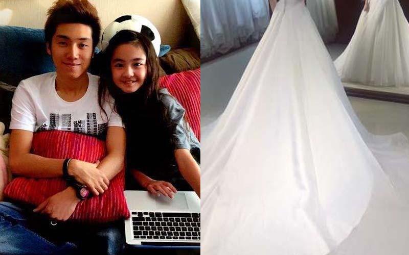 24歲歌手與12歲蘿莉「一見鐘情」相戀6年,如今她終於穿上絕美婚紗!