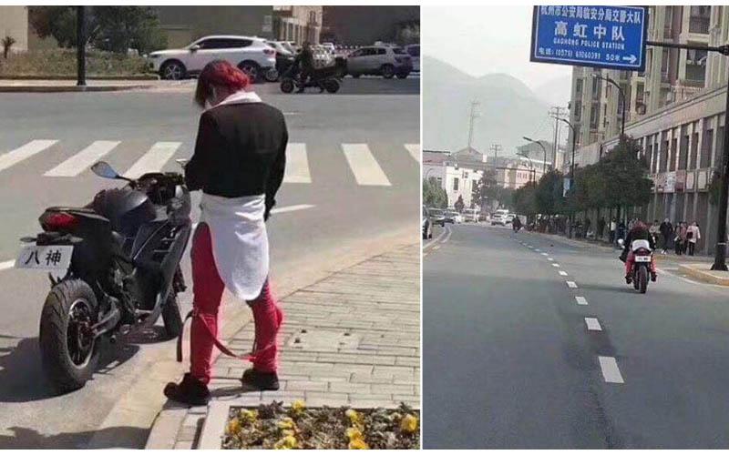 街頭驚見「八神庵」警方前往逮捕  「正面曝光」網友:只想八蕊!