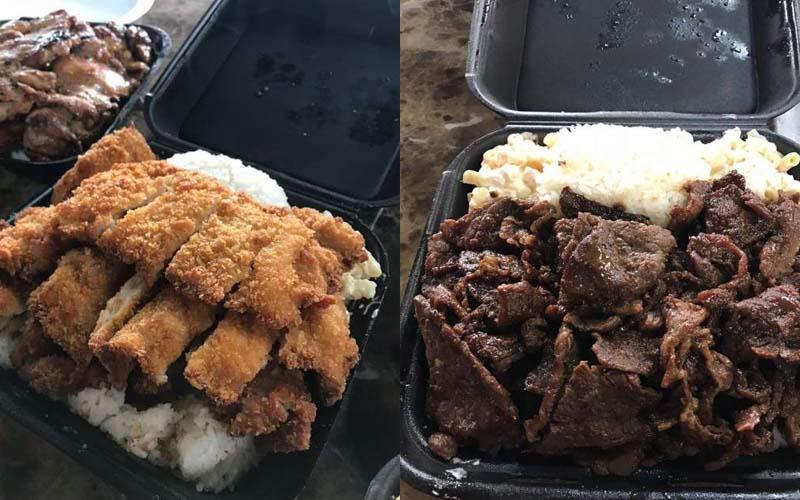 美國便當94霸氣!他買牛肉便當「肉都滿出來」,網友驚:好胖的感覺!