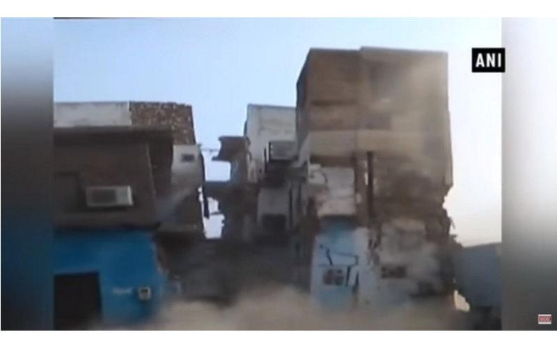 恐怖!上千隻老鼠啃食挖空地基 三層樓房6秒倒塌