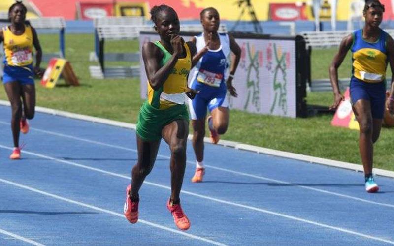 12歲女版「牙買加閃電」!200公尺短跑比賽「破世界紀錄」快到對手都傻眼了!