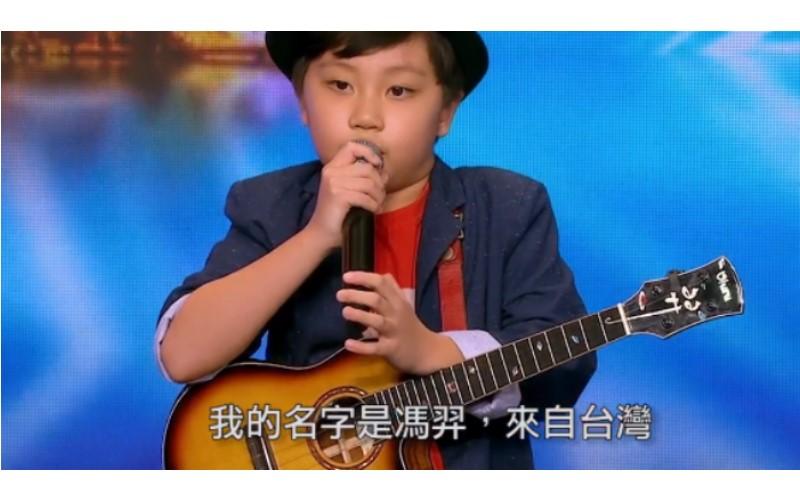 10歲台灣神童帶烏克麗麗上台 評審以為是「玩具」 當他表演那刻全場都為他歡呼了