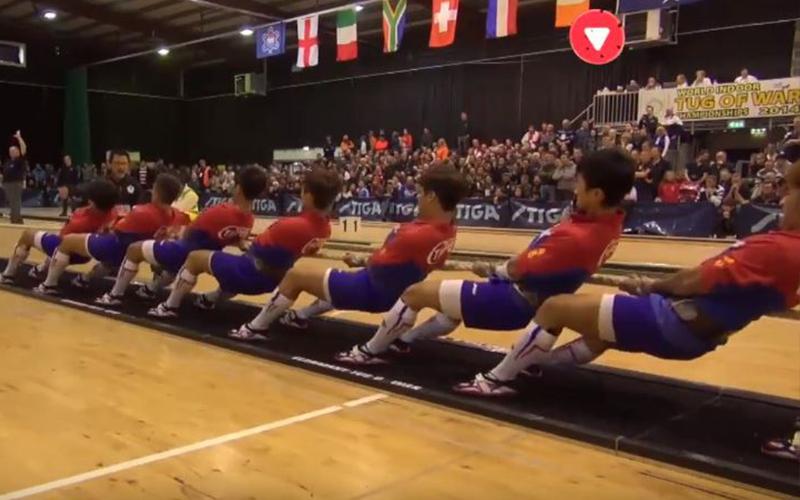 經典比賽回顧!台灣高中拔河隊「奪世界冠軍」關鍵5秒奮勇一拉「對手整排被KO」現場老外看傻!