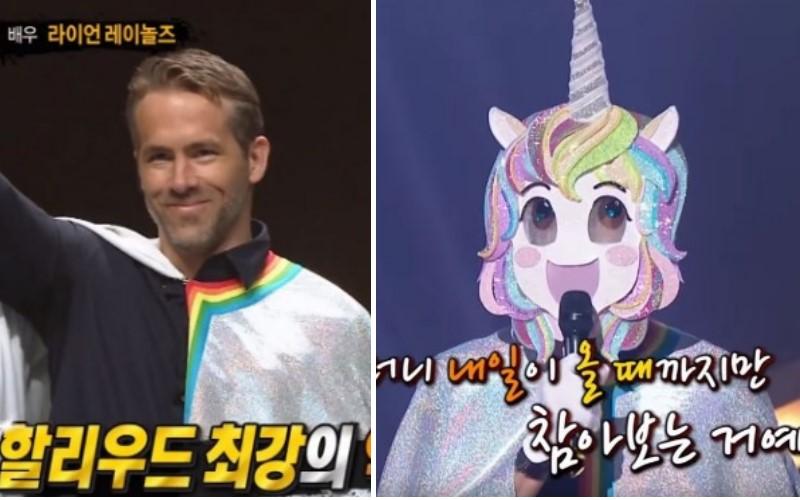 韓國《蒙面歌王》獨角獸男「超磁性嗓音」征服全場,面具一脫...竟是「死侍本人」!