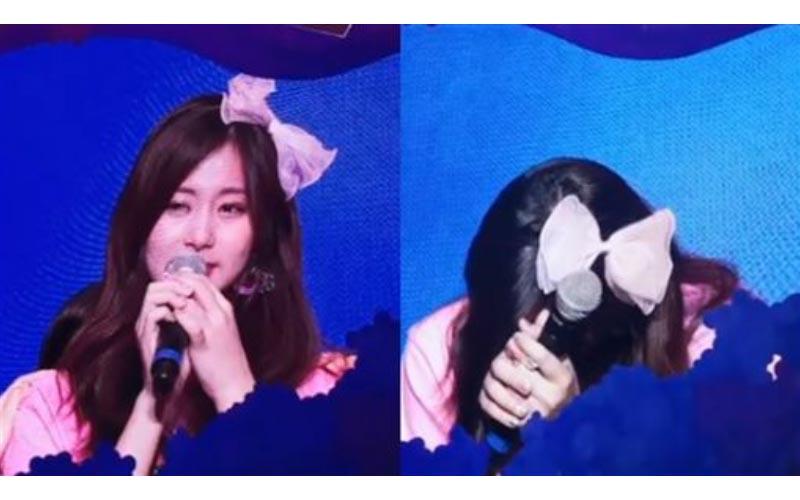 TWICE巡演「媽在台下應援」子瑜激動淚崩說中文感謝!