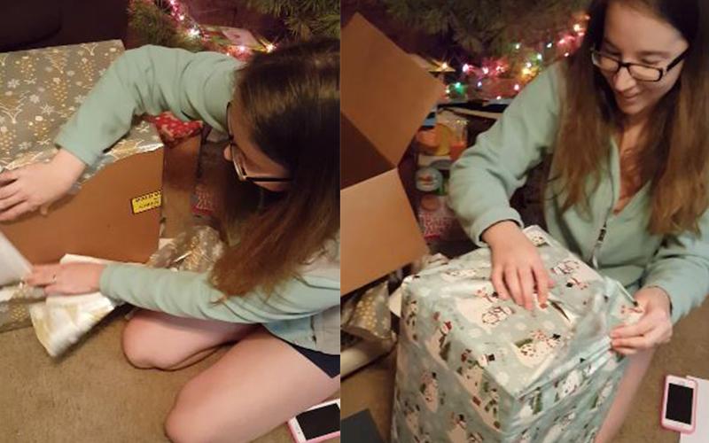 老公送禮物「她拆了一層又一層完全沒東西」超傻眼,最後「摸到小小一塊」結局大逆轉!