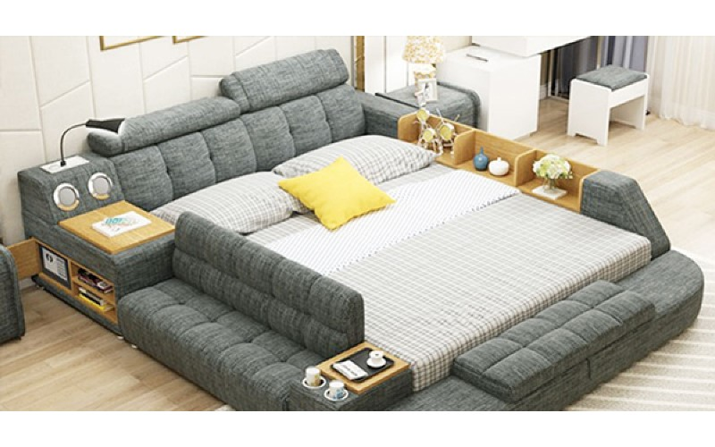 一躺下去就不想離開…網友最想要的「神床」,集結客廳、臥室和書房的功能狂出新境界!