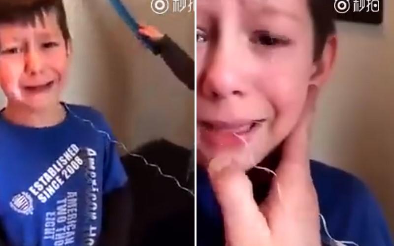 哥哥太怕拔牙齒「狂哭抵抗」 弟弟下一秒「超天然呆」的幫他一把!全家人笑哭