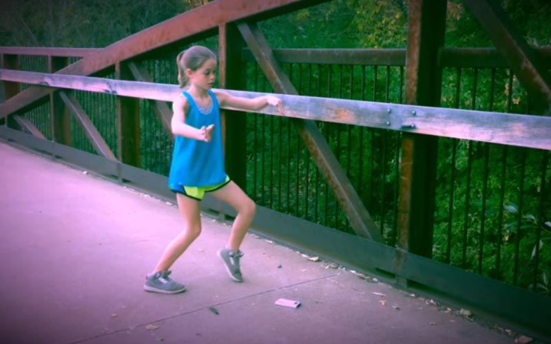 11歲小女孩「自學機械舞」影片上傳不到10天點閱數破百萬!