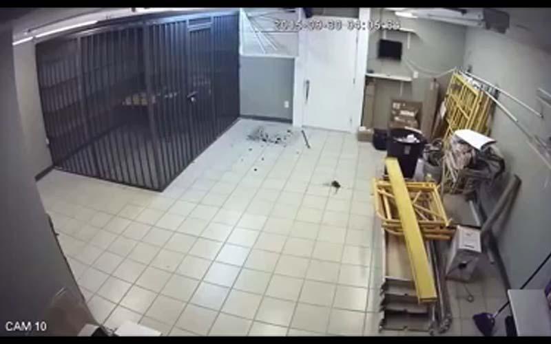 這家店因為常常遭小偷,老闆把店裡改造成「密室逃脫」小偷跑得心好累,崩潰跪地!